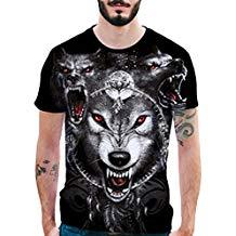 camiseta de lobo