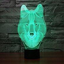 lámpara de lobo