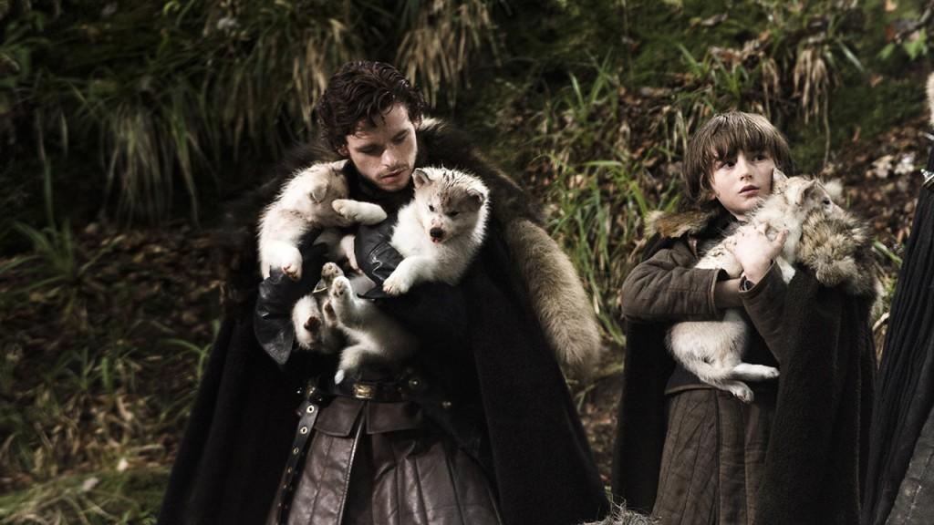 Lobos de Juego de Tronos