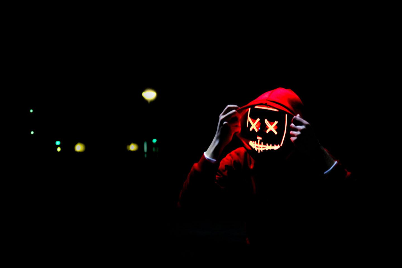 máscaras de lobos