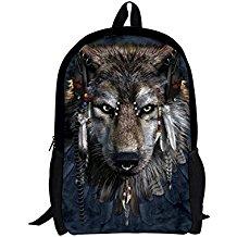 mochila de lobo
