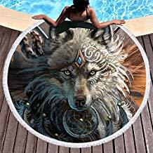 toalla de lobo