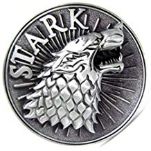 hebilla de lobo Stark
