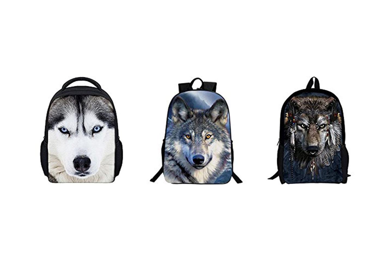 mochilas de lobos