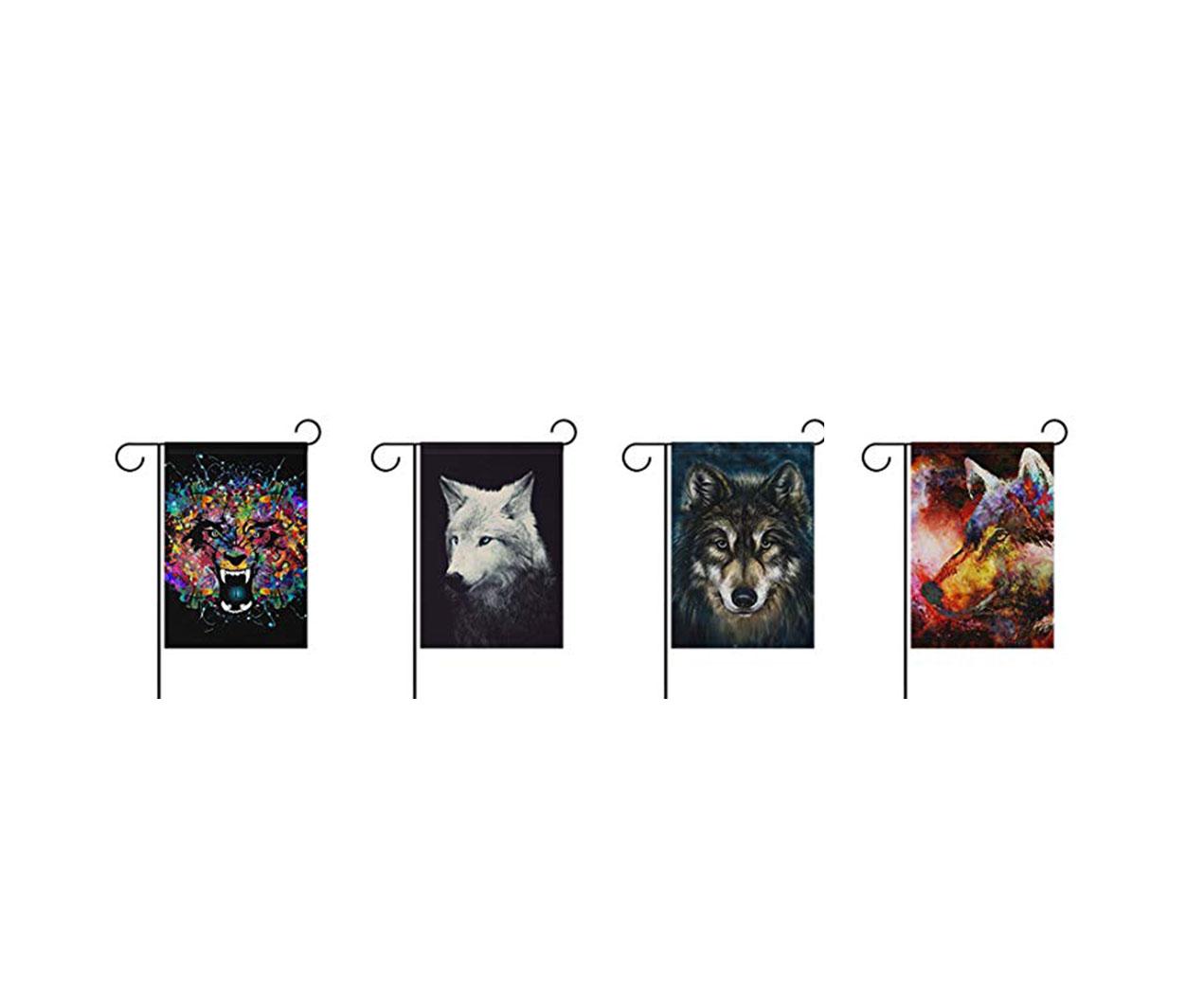 banderas de lobos