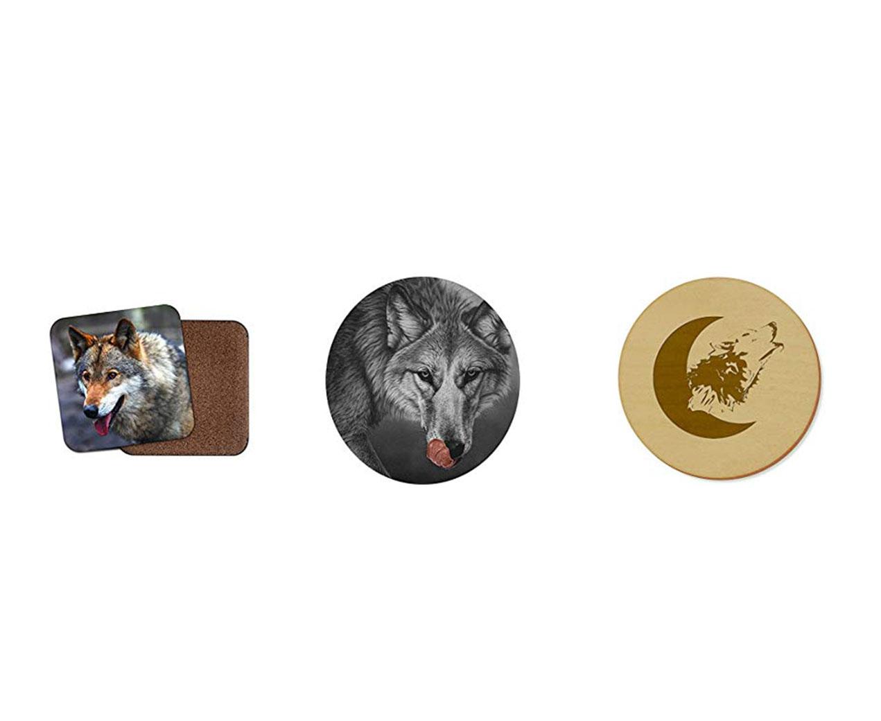 posavasos de lobos