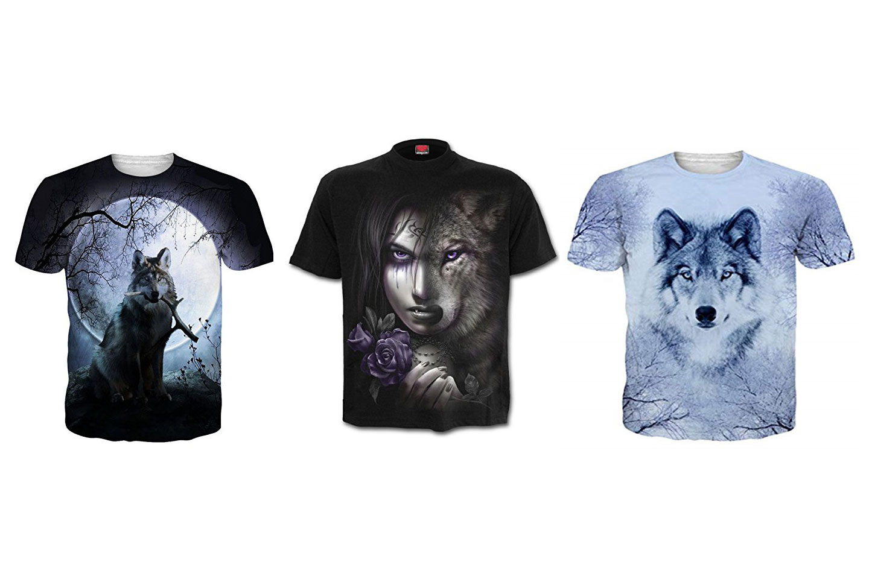 camisetas de lobos