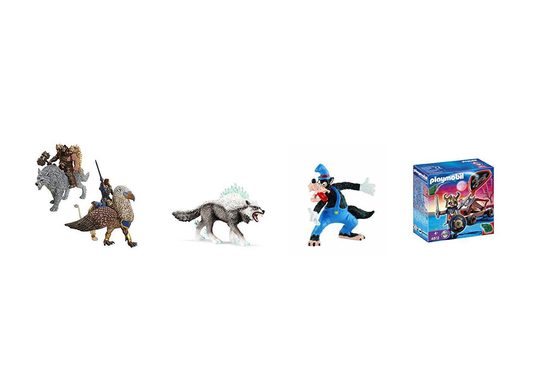 juguetes de lobos