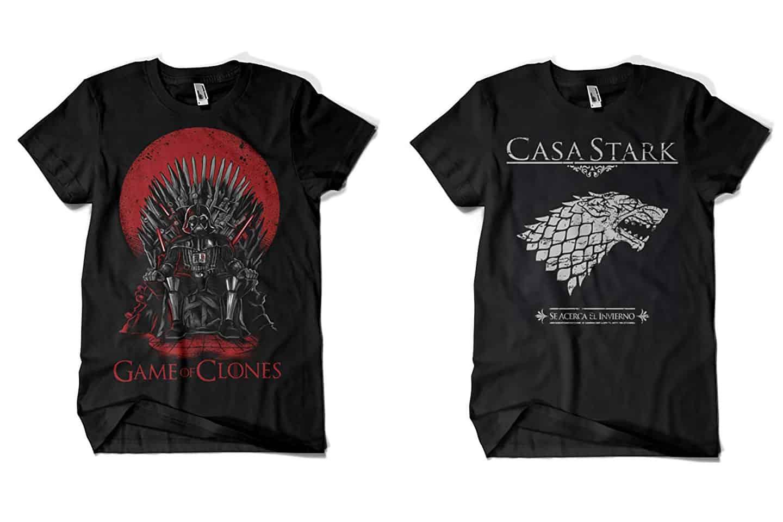 camisetas de juego de tronos