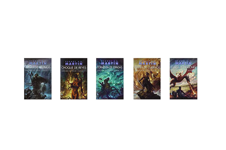 libros de juego de tronos