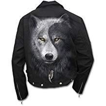 chaqueta de lobo