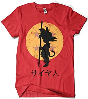 camiseta de dragon ball