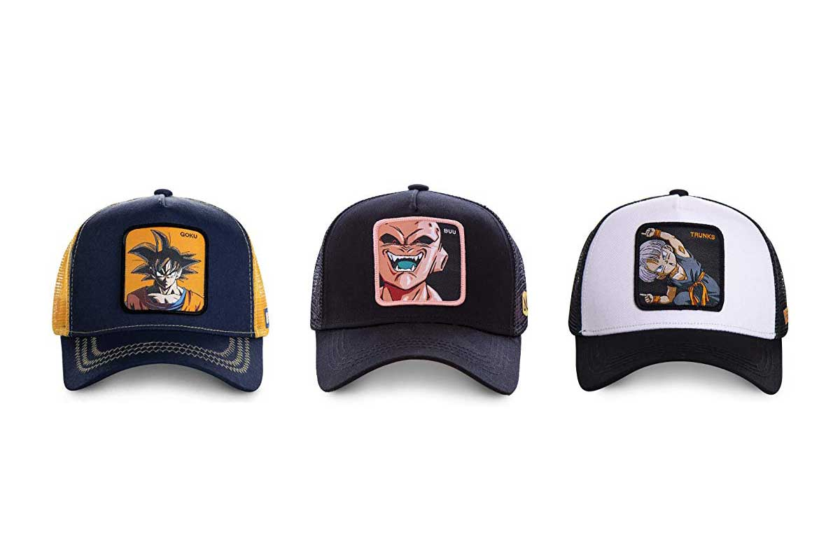 MERCHANDMANIA Gorra Dragon Ball Super Logo Anime Color Cap